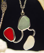 Sea Glass Pendant 128