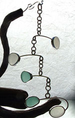 Sea Glass Hanging Mobile