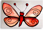 Stained Glass Buttefly